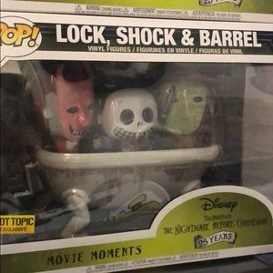 Hot topic exclusive Lock shock and barrel